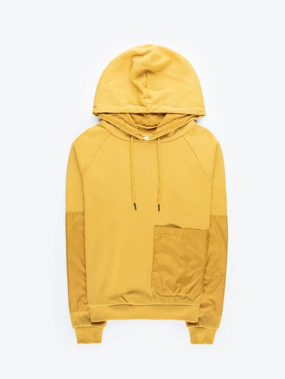 Combined hoodie