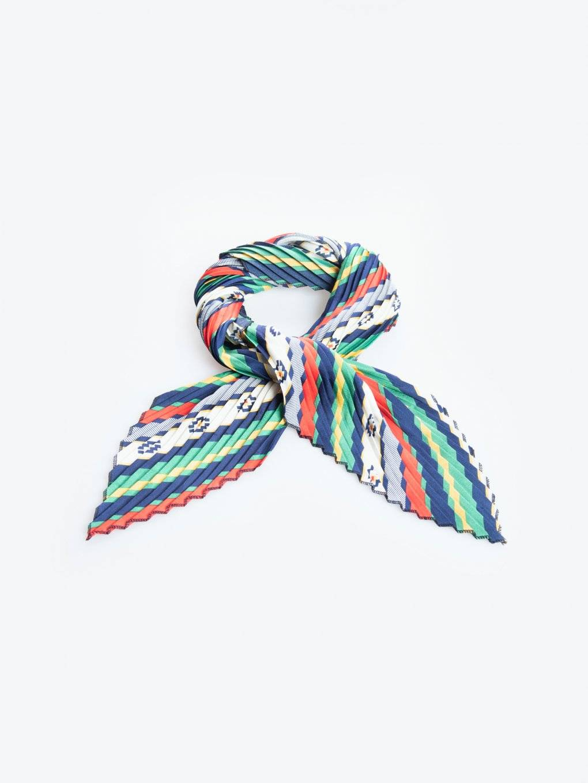 Colourful pleated headband