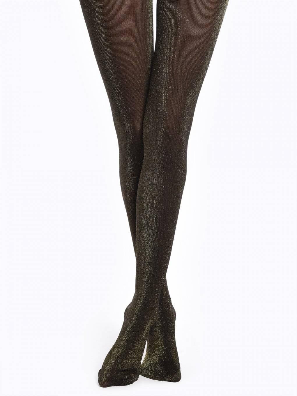 Metallic tights