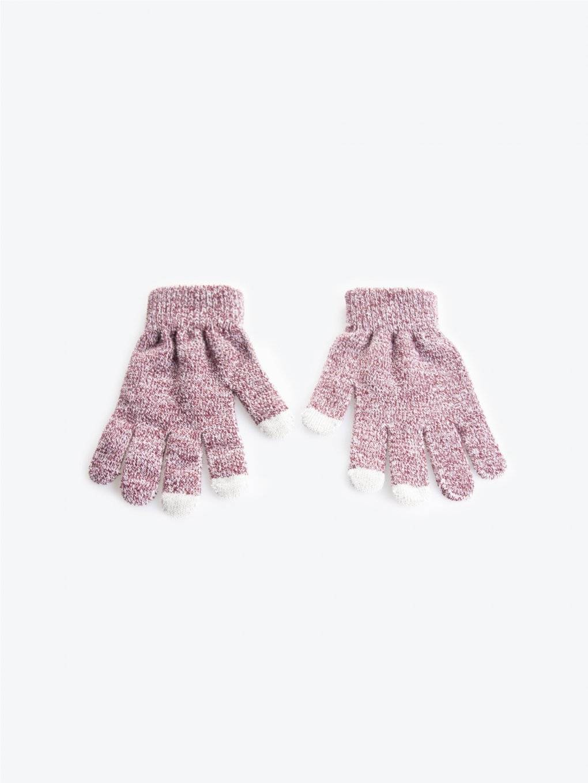 Basic marled gloves