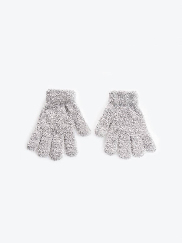 Fluffy gloves