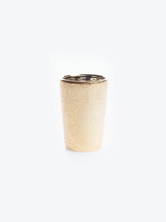 Porcelánový kelímek na zubní kartáčky