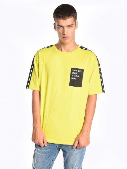 Taped t-shirt