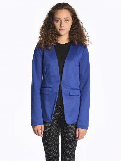 Plain blazer