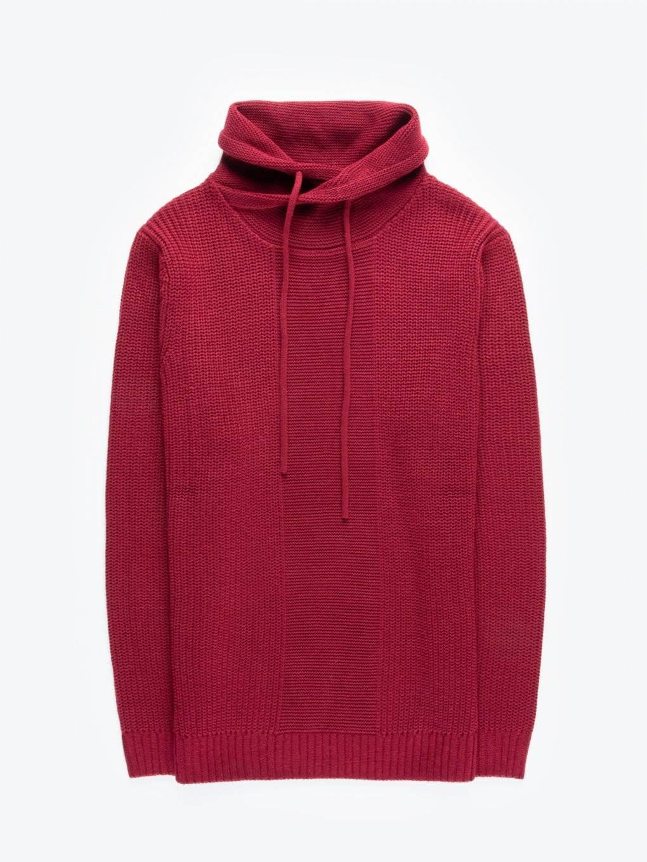 High neck jumper