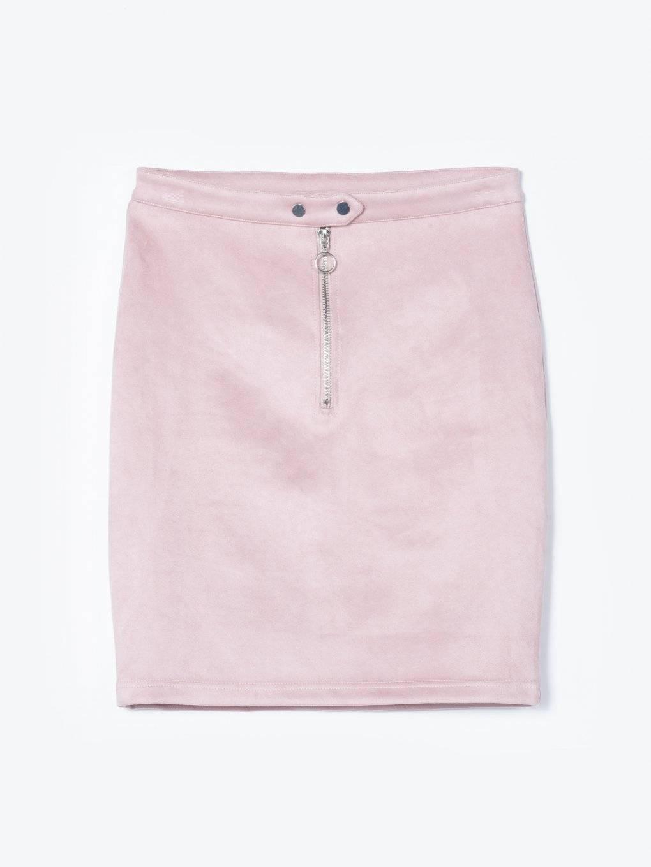 Ołówkowa spódnica z zamkiem