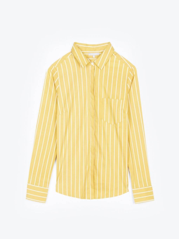 Prúžkovaná košeľa slim fit