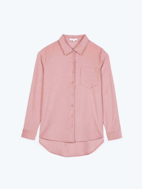 Menčestrová košeľa s náprsným veckom