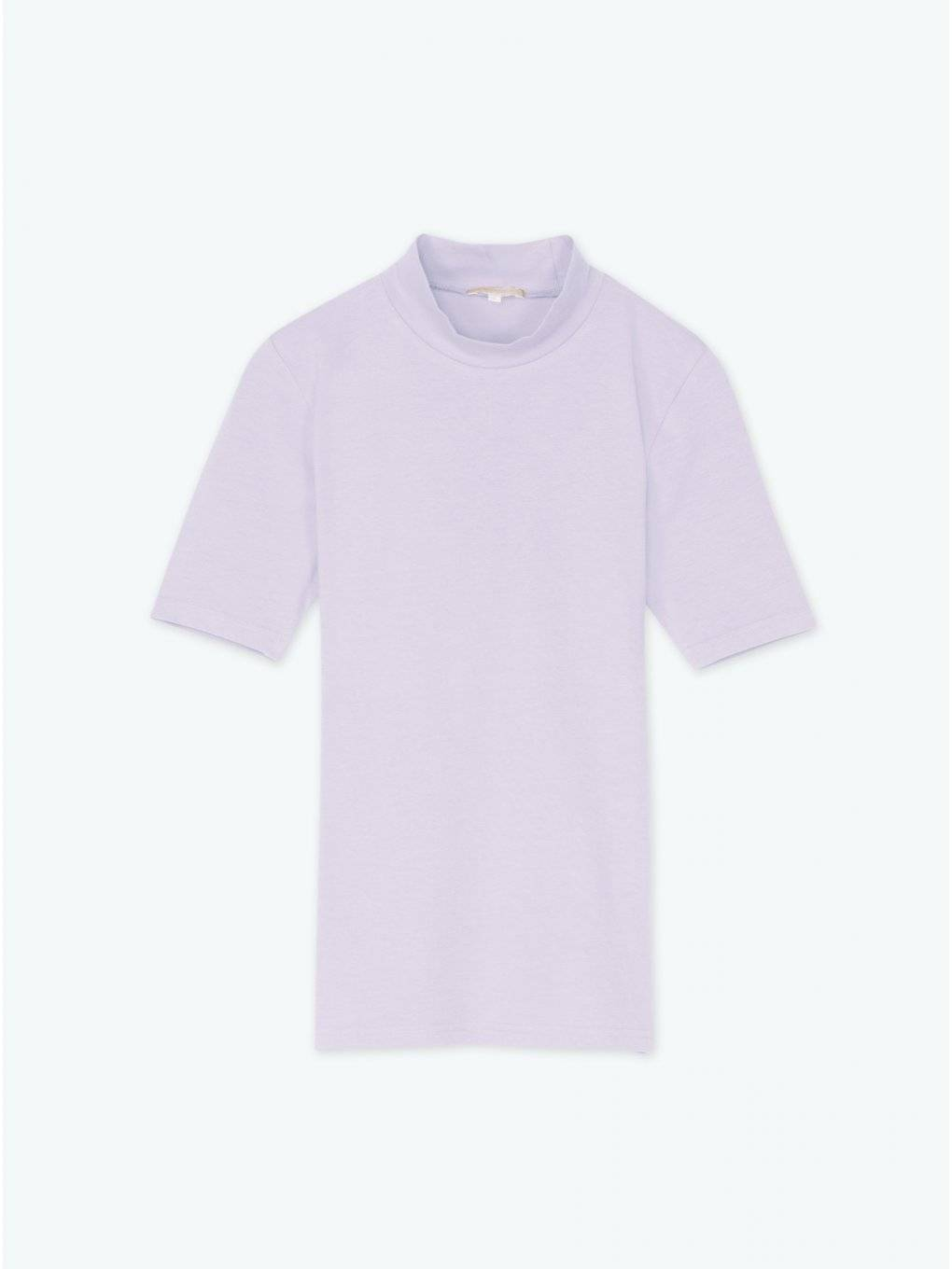 Plain short sleeve top