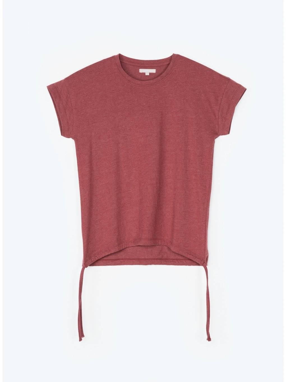 Koszula z krótkim rękawem i okrągłym dekoltem