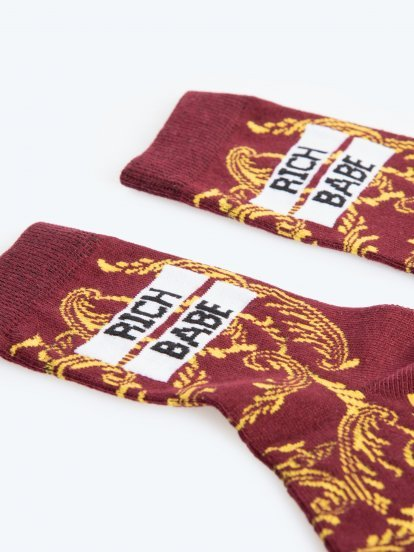 Ponožky s potiskem