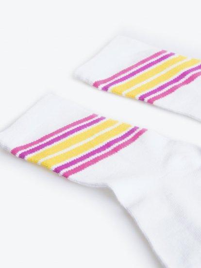 Ponožky s proužky