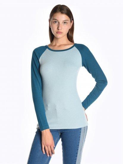 Tričko s raglánovým rukávem