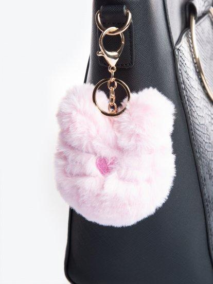Kitty key ring
