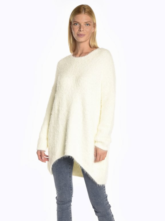 Soft touch oversized sweater