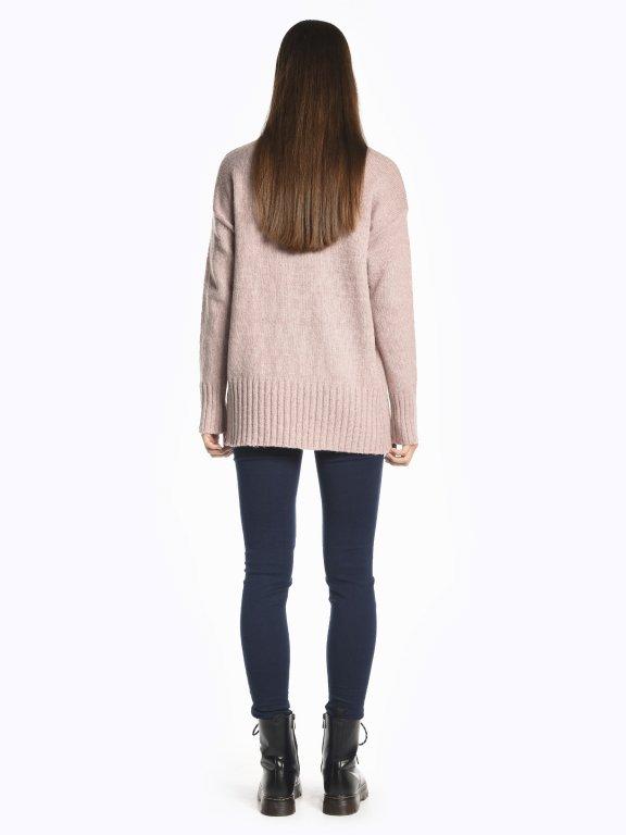 Round neck jumper
