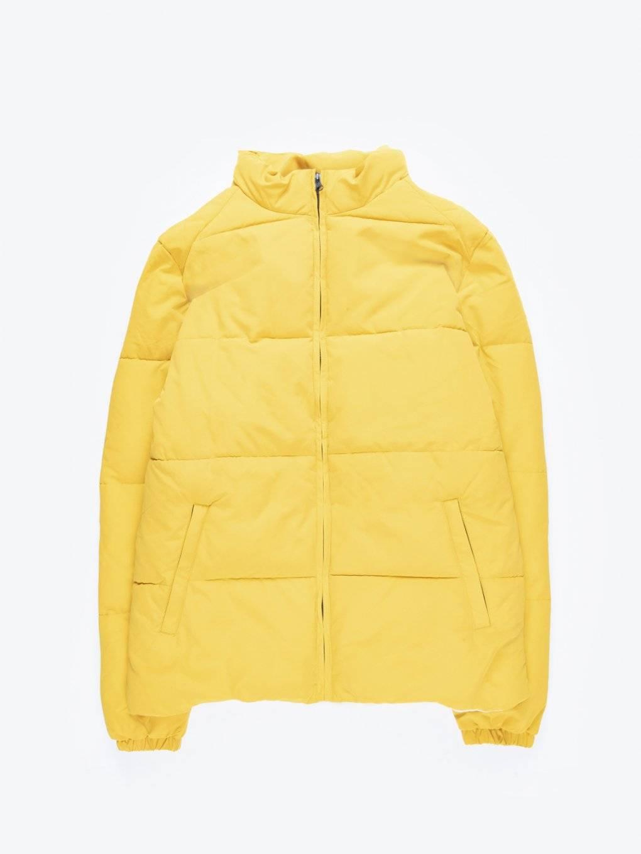 Pikowana watowana kurtka