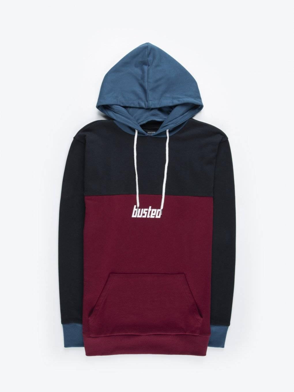 Colour block hoodie
