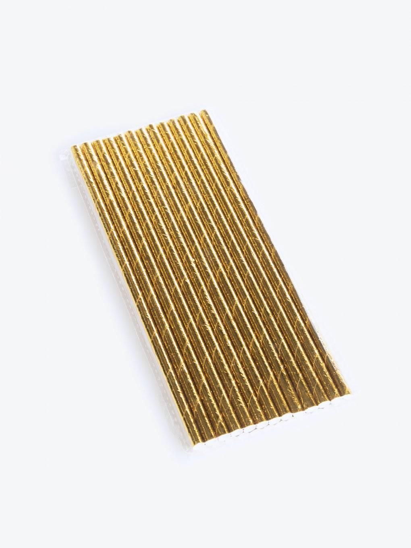 Paper straws (25 pcs)