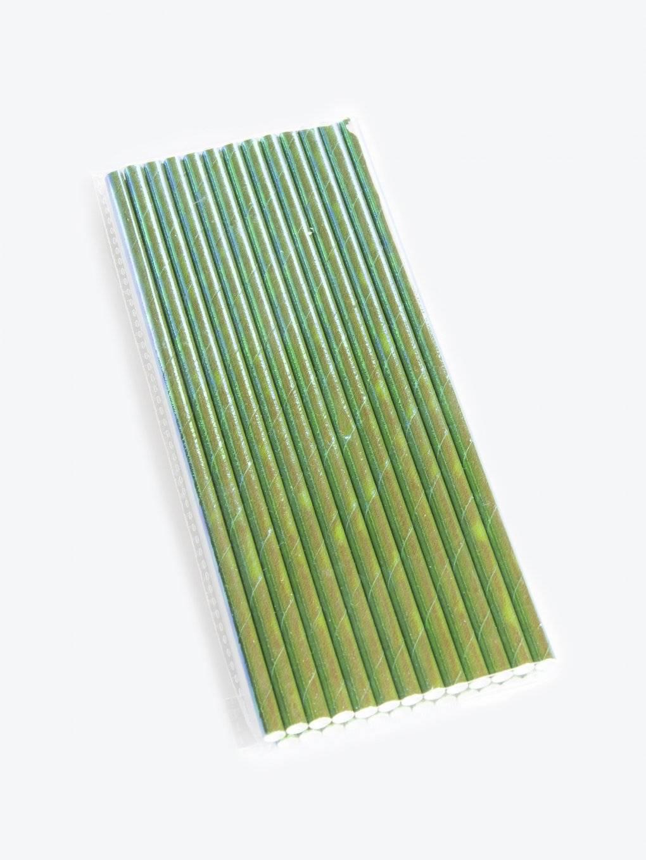 Papírová brčka (25 ks)
