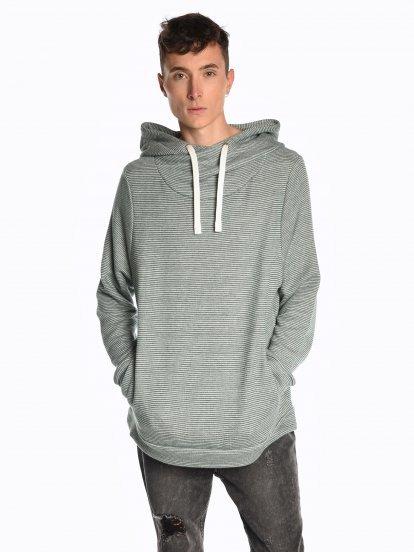 Asymmetric hoodie