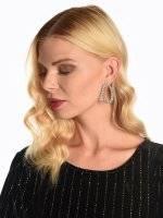 Strass earrings