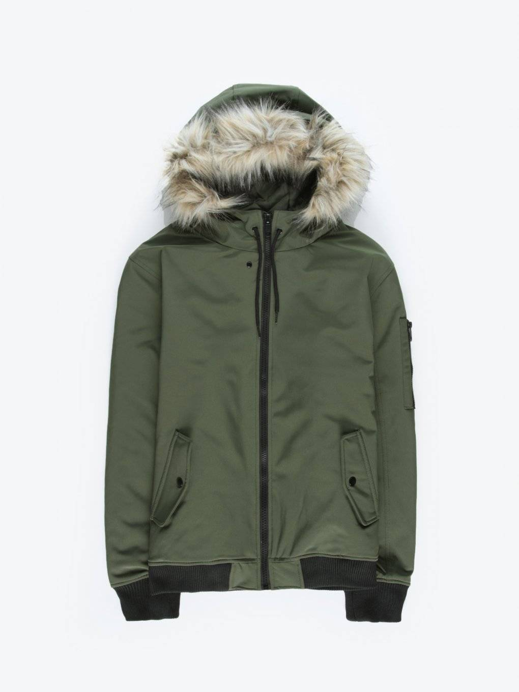 Basic bomber with hood