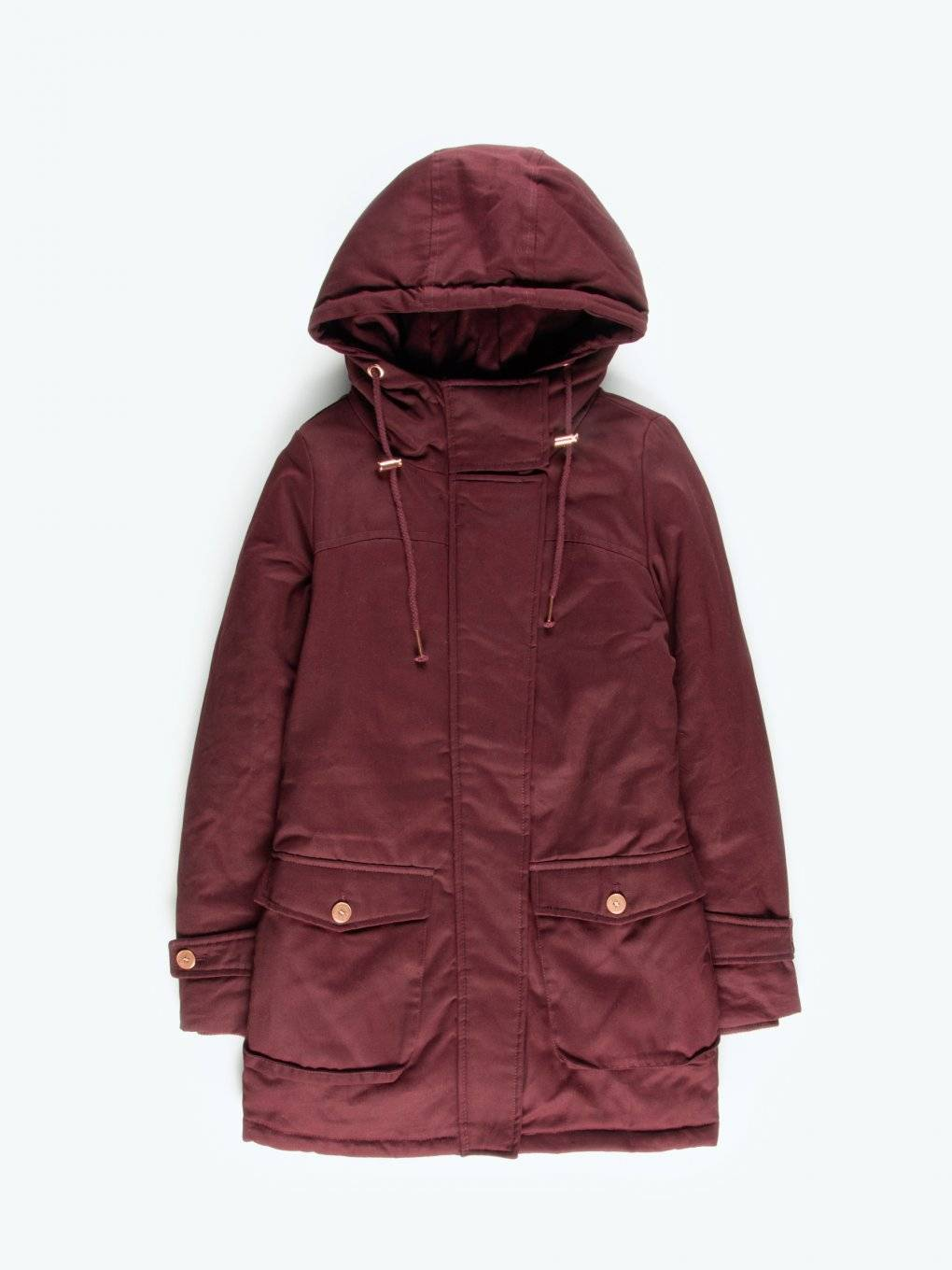 Cotton padded parka