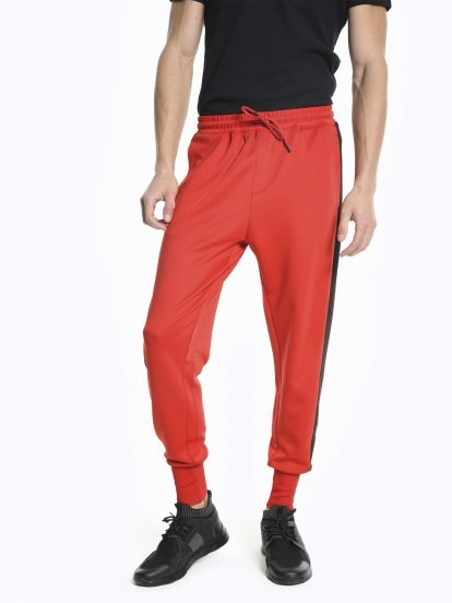 Taped joggers