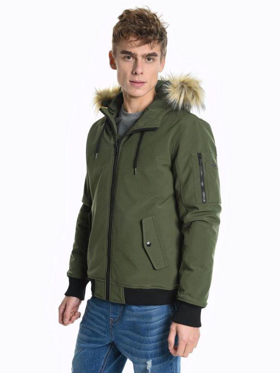 Basic bomber with hood