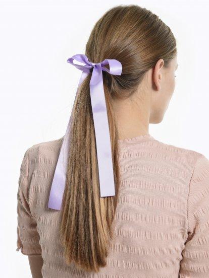 Gumička do vlasov so stužkou