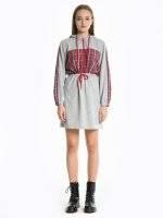 Comfy sweatshirt dress