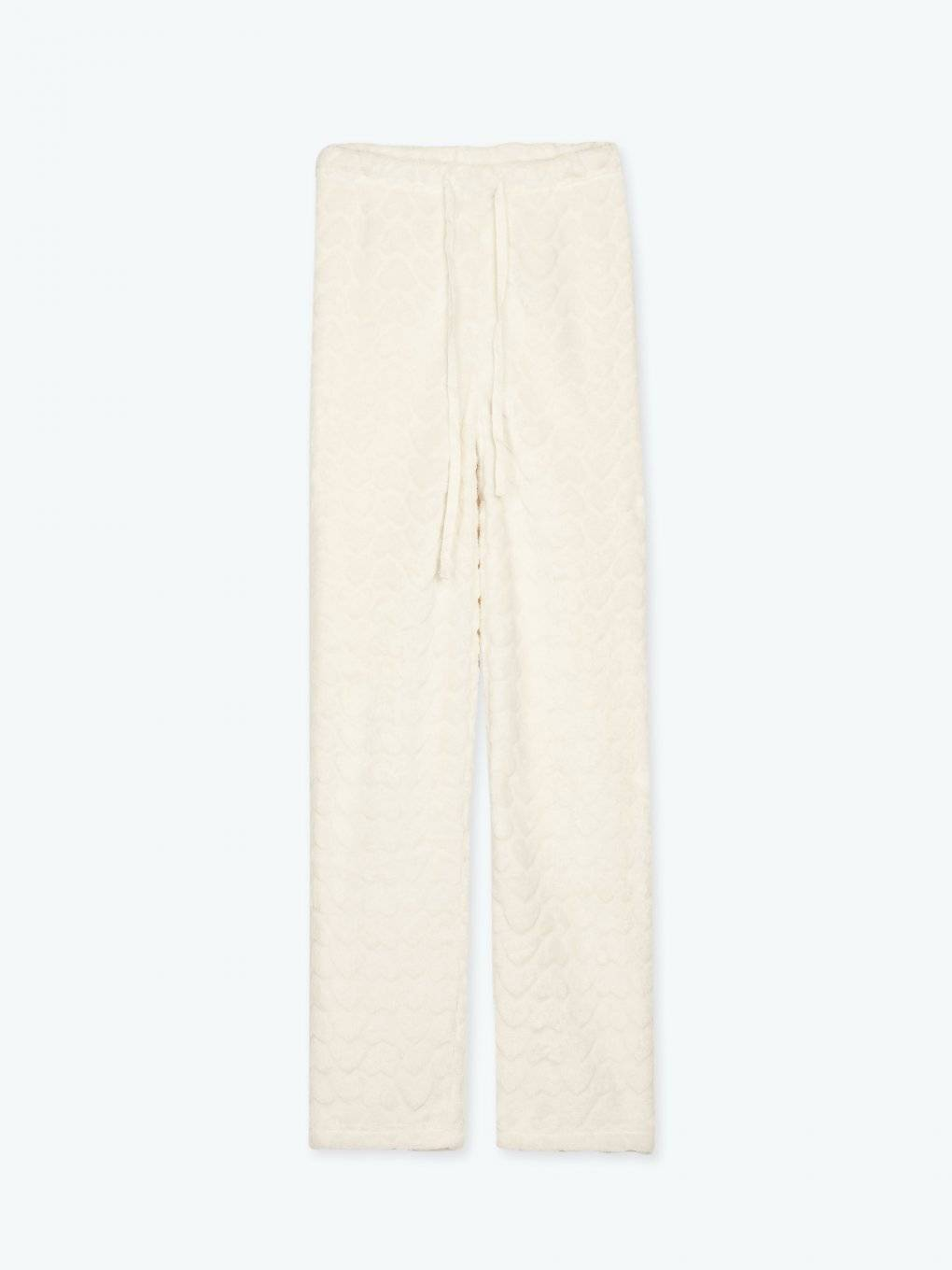 Fleece pyjama pants
