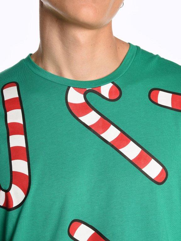 Christmas graphic tee