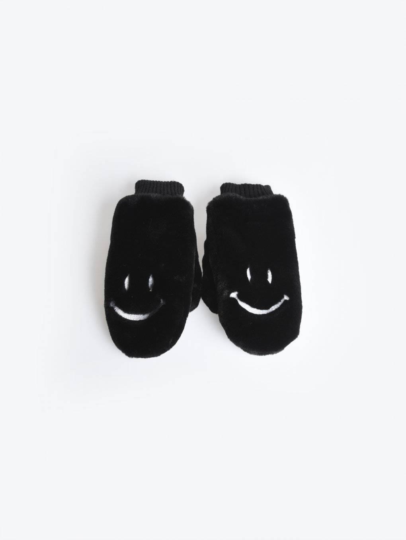 Fuzzy mittens