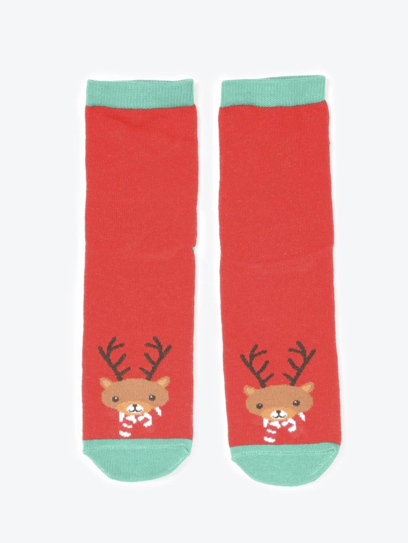 Sada dvou párů vzorovaných ponožek