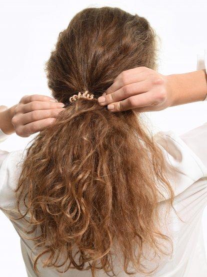 Sada pěti gumiček do vlasů