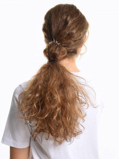 Sada šiestich gumičiek do vlasov