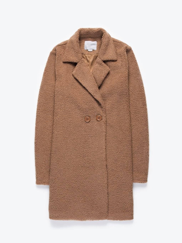 Longline fuzzy coat