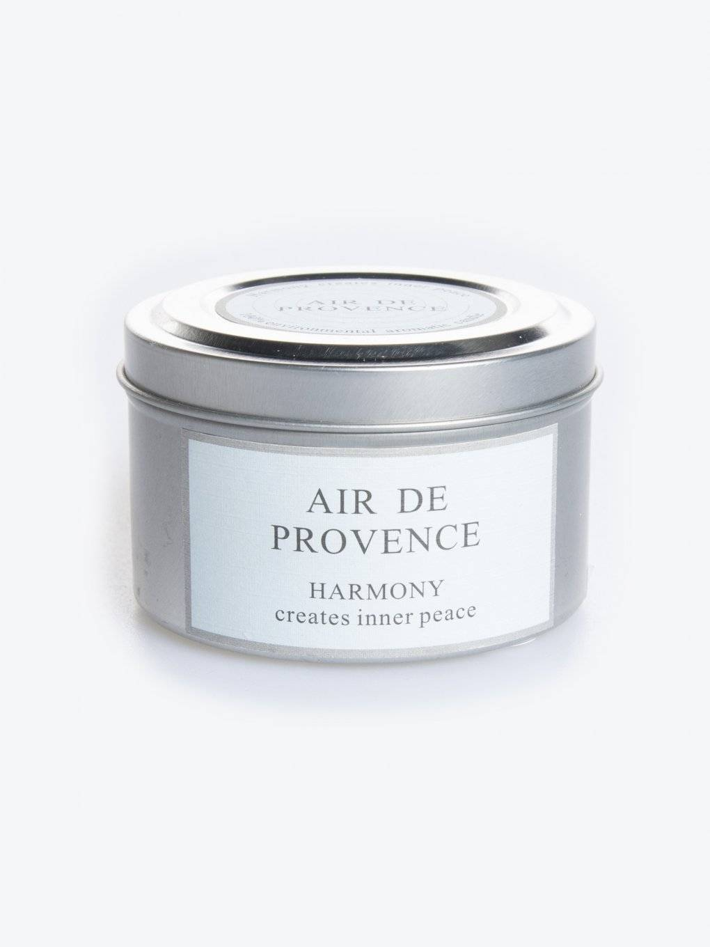 Air de provence scented tin candle