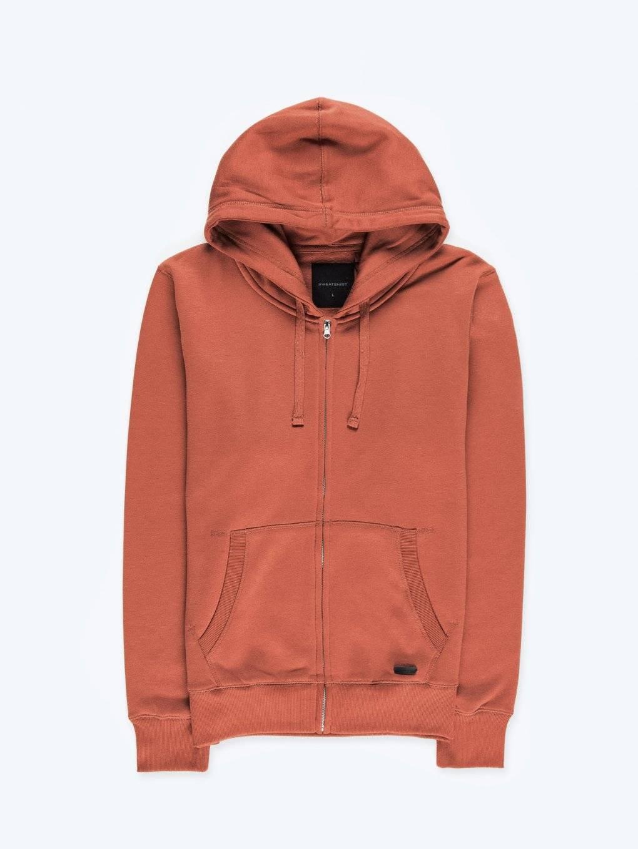 Basic zip-up hoodie