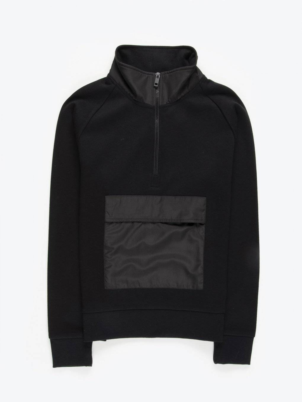 Zip up sweatshirt with pocket