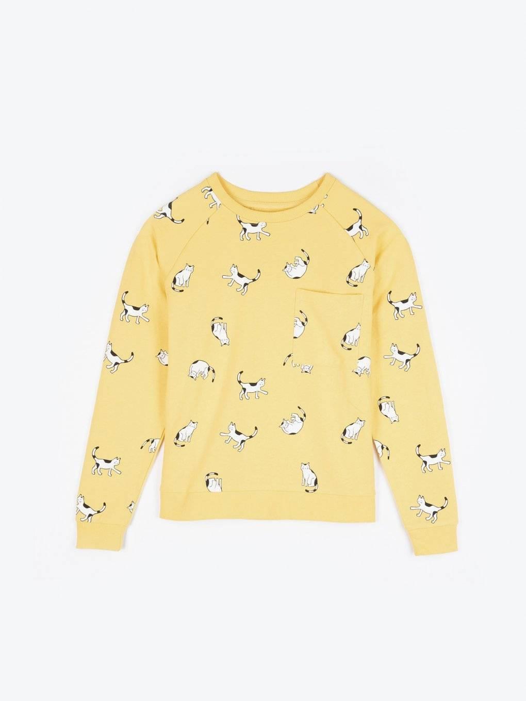 All over printed sweatshirts