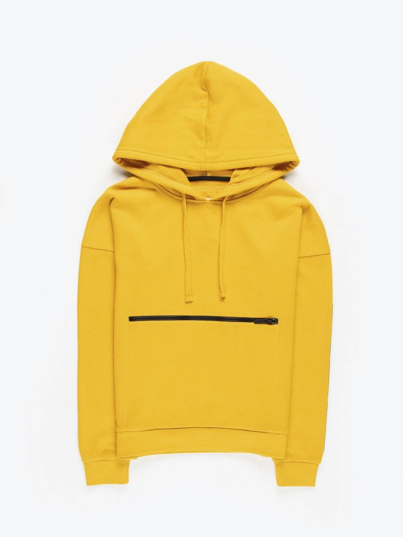 Zipper pocket hoodie