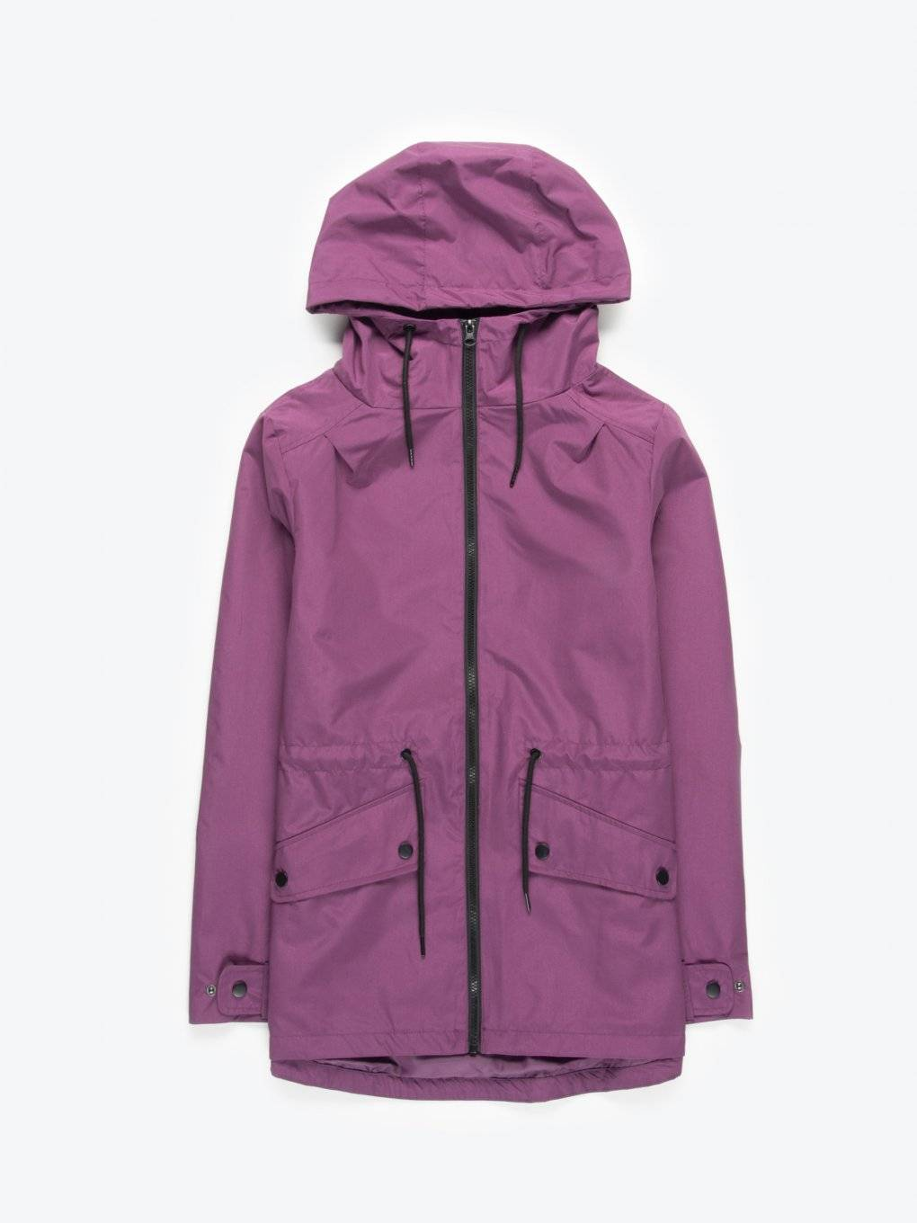 Light waterproof jacket with hood