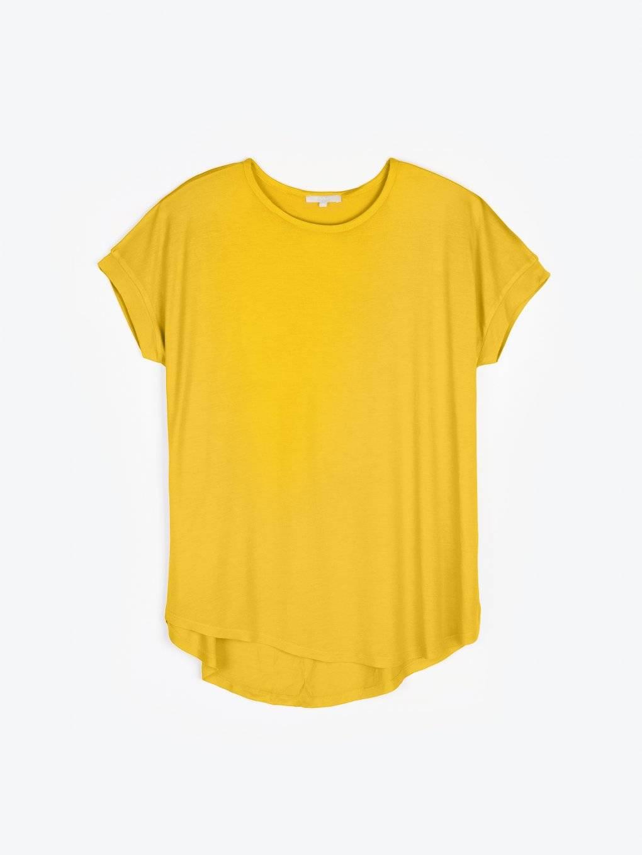 Prodloužené tričko z viskózy