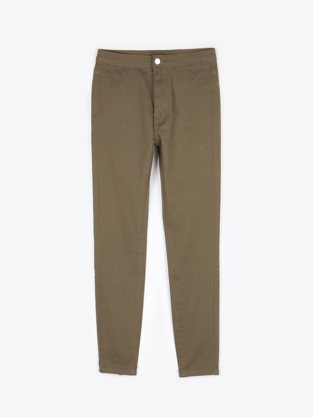 Basic stretchy trousers