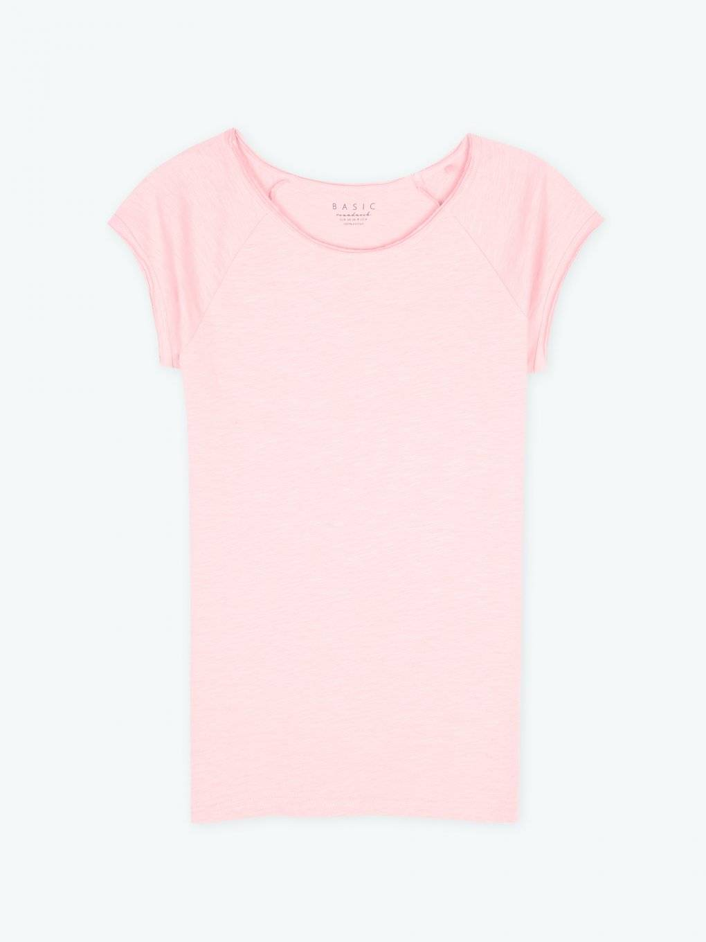 Basic jersey short sleeve t-shirt