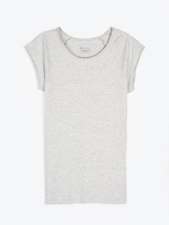 Basic jersey short sleeve t-shirt