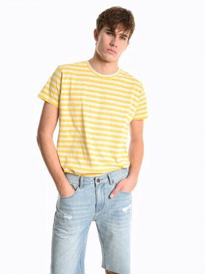 Koszulka w prążki